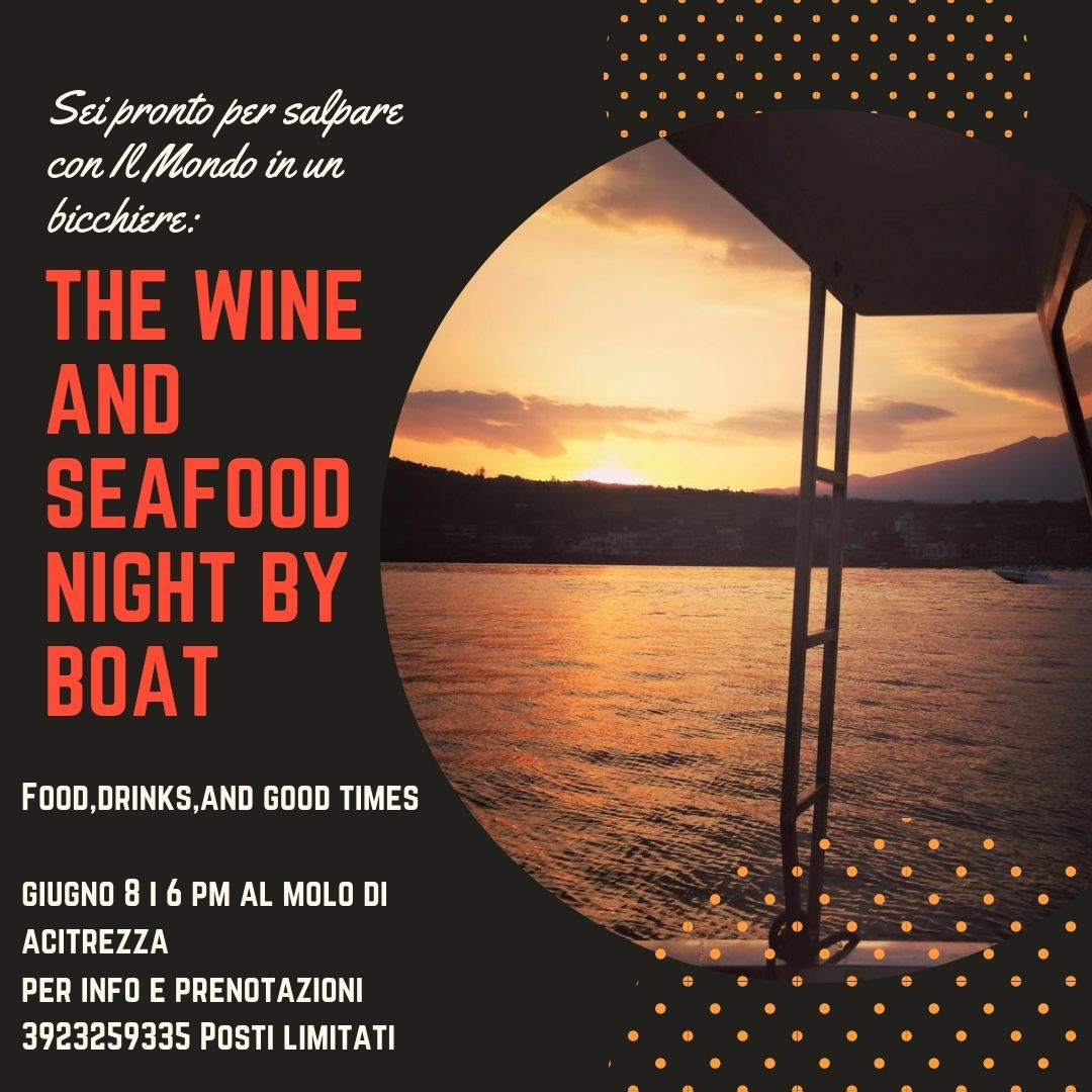 The Wine & Seafood Night by Boat
